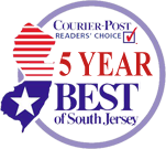 Voted Best of by Courier Post 5 Year Running
